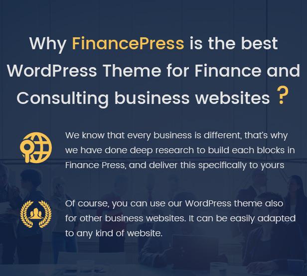 Finance Press - Consulting Business WordPress Theme - 4